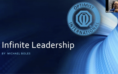 Infinite Leadership 19/20 Keynote Michael Boles